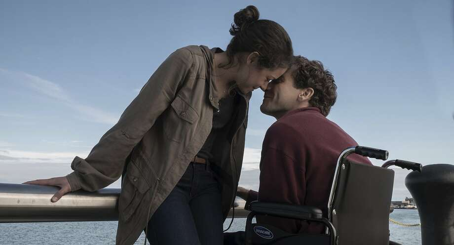 """This image released by Roadside Attractions shows Tatiana Maslany, left, and Jake Gyllenhaal in a scene from """"Stronger.""""  (Scott Garfield/Lionsgate and Roadside Attractions via AP) Photo: Scott Garfield, Associated Press"""
