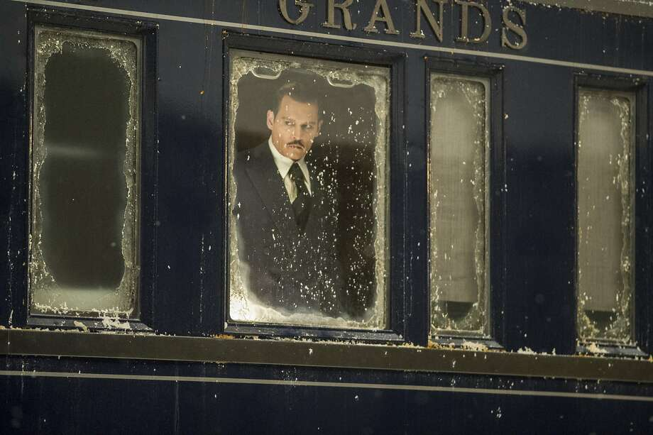 "This image released by Twentieth Century Fox shows Johnny Depp in ""Murder on the Orient Express."" (Nicola Dove/Twentieth Century Fox via AP) Photo: Nicola Dove, Associated Press"