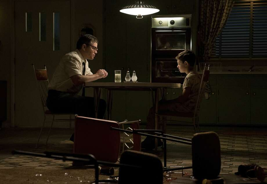 """This image released by Paramount Pictures shows Matt Damon, left, and Noah Jupe in a scene from """"Suburbicon."""" ( Hilary Bronwyn Gayle/Paramount Pictures via AP) Photo: Hilary Bronwyn Gayle, Associated Press"""