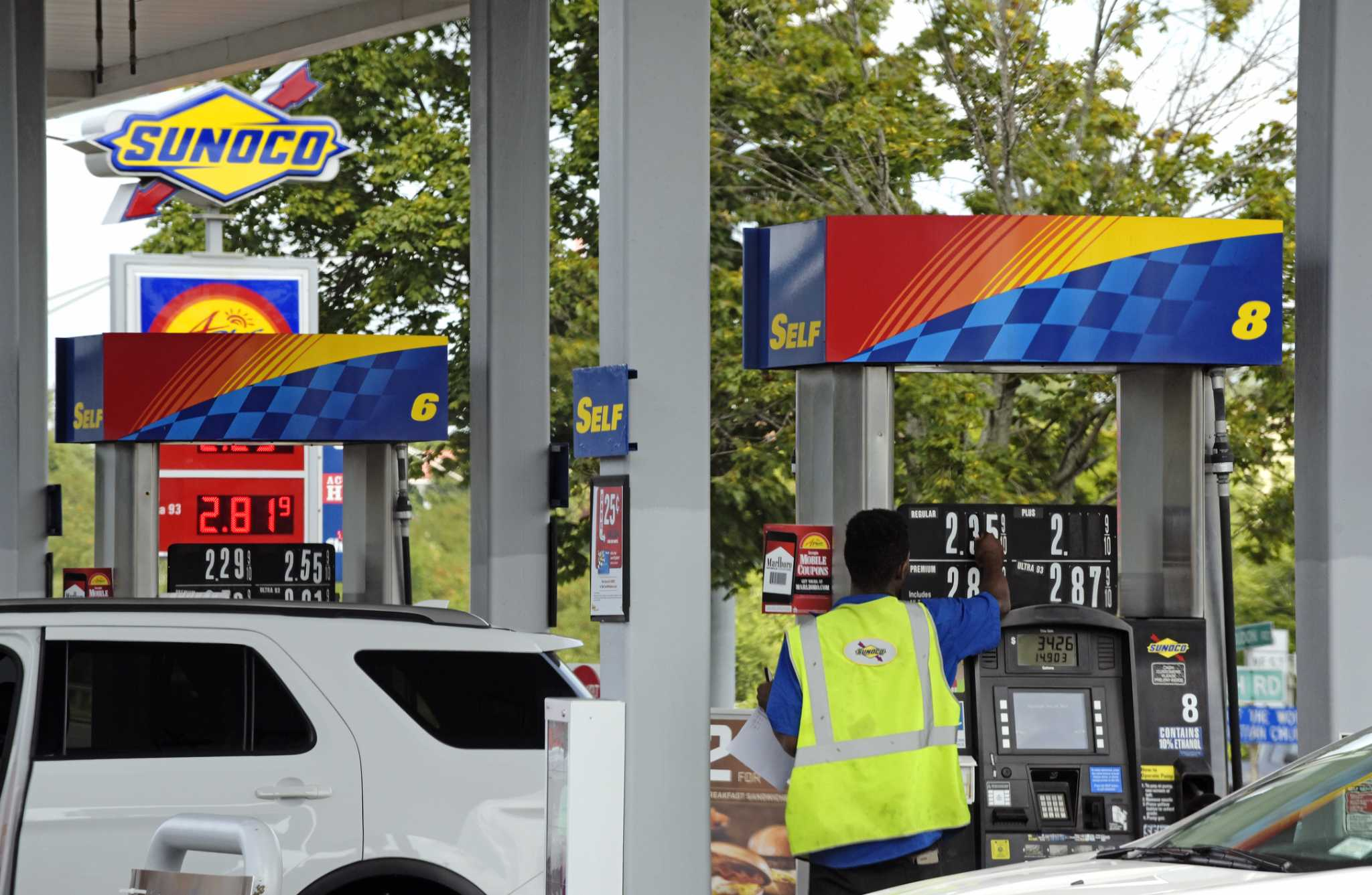 gas prices in albany up 32 cents in past week times union