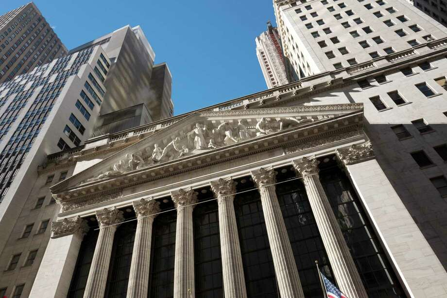 FILE - This Wednesday, Dec. 21, 2016, file photo shows the New York Stock Exchange. U.S. stocks are rising early Monday, Aug. 28, 2017, with health care companies making some of the largest gains. (AP Photo/Mark Lennihan, File) Photo: Mark Lennihan, STF / Copyright 2016 The Associated Press. All rights reserved.