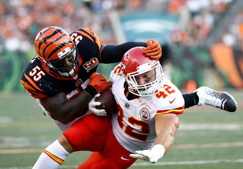 Anthony Sherman (42): Former UConn standout will be part of the Kansas City Chiefs offense on Sunday in Super Bowl LIV.  Photo: Andy Lyons, Getty Images