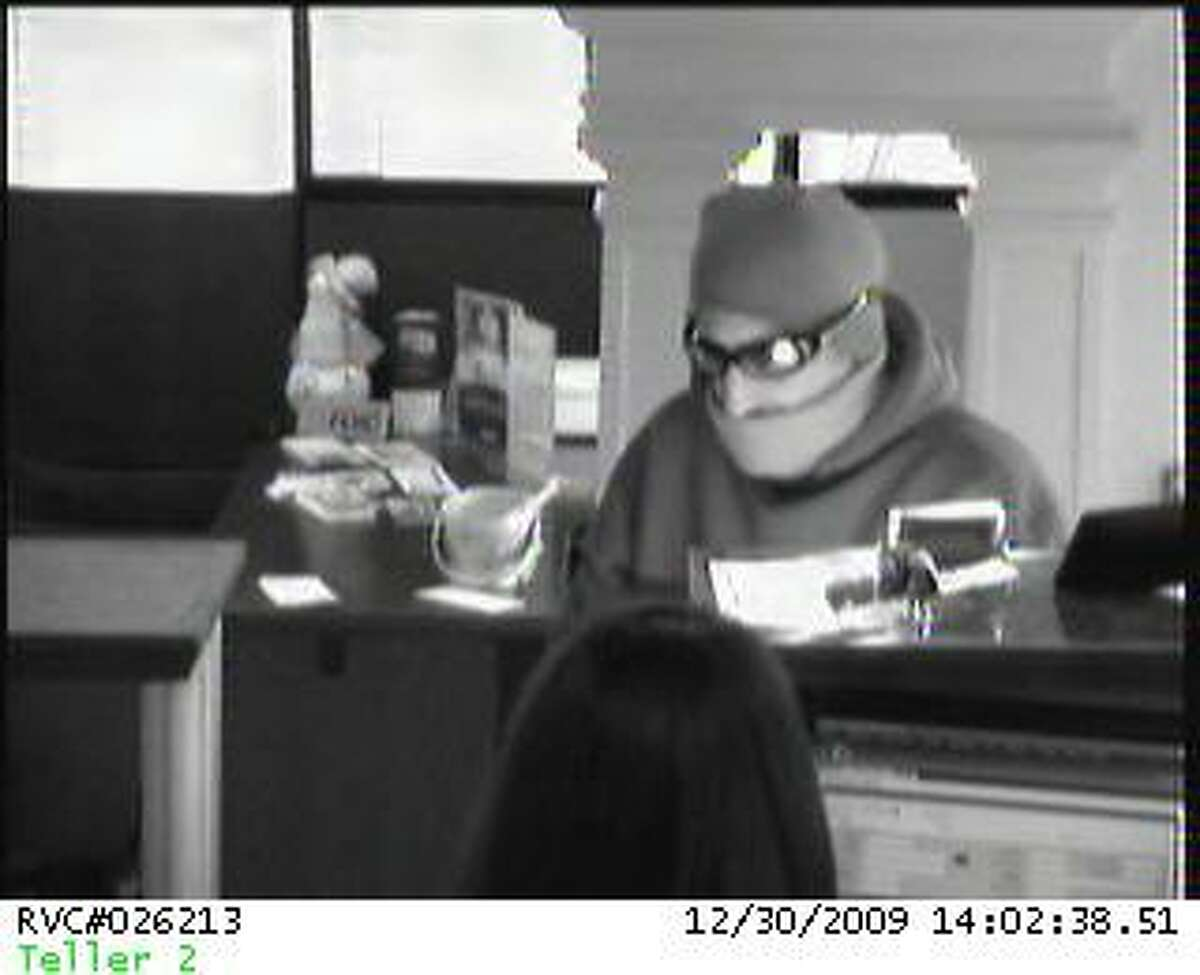 One of several photos provided by Torrington police of the man suspected of robbing the Litchfield Bancorp Wednesday afternoon.
