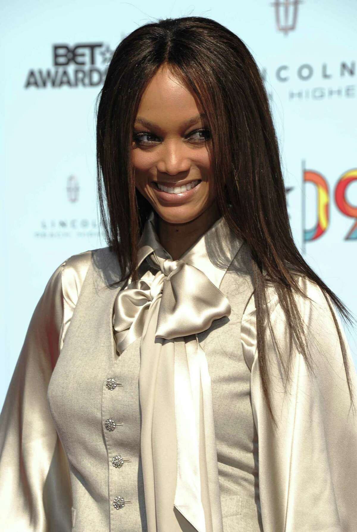 Tyra Banks arriving at the 9th Annual BET Awards in Los Angeles. The former model says the syndicated