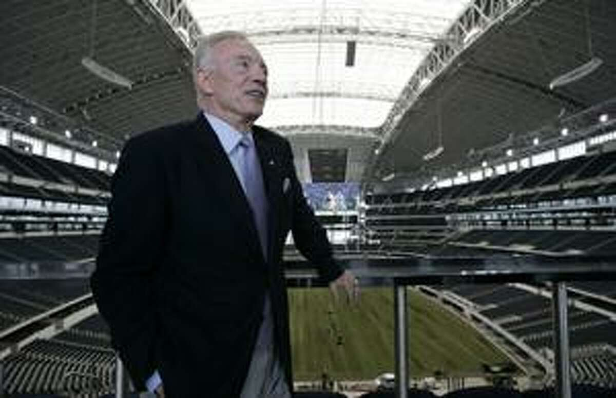 AP In this photograph taken on July 24 Dallas Cowboys owner Jerry Jones stands in the