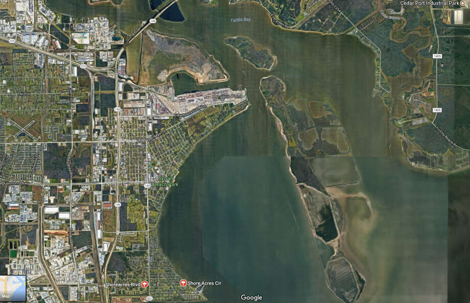 LaPorte, Shoreacres and Baytown residents are ordered to stay put and sheltered during the 'chemical emergency.' Photo: Google Maps