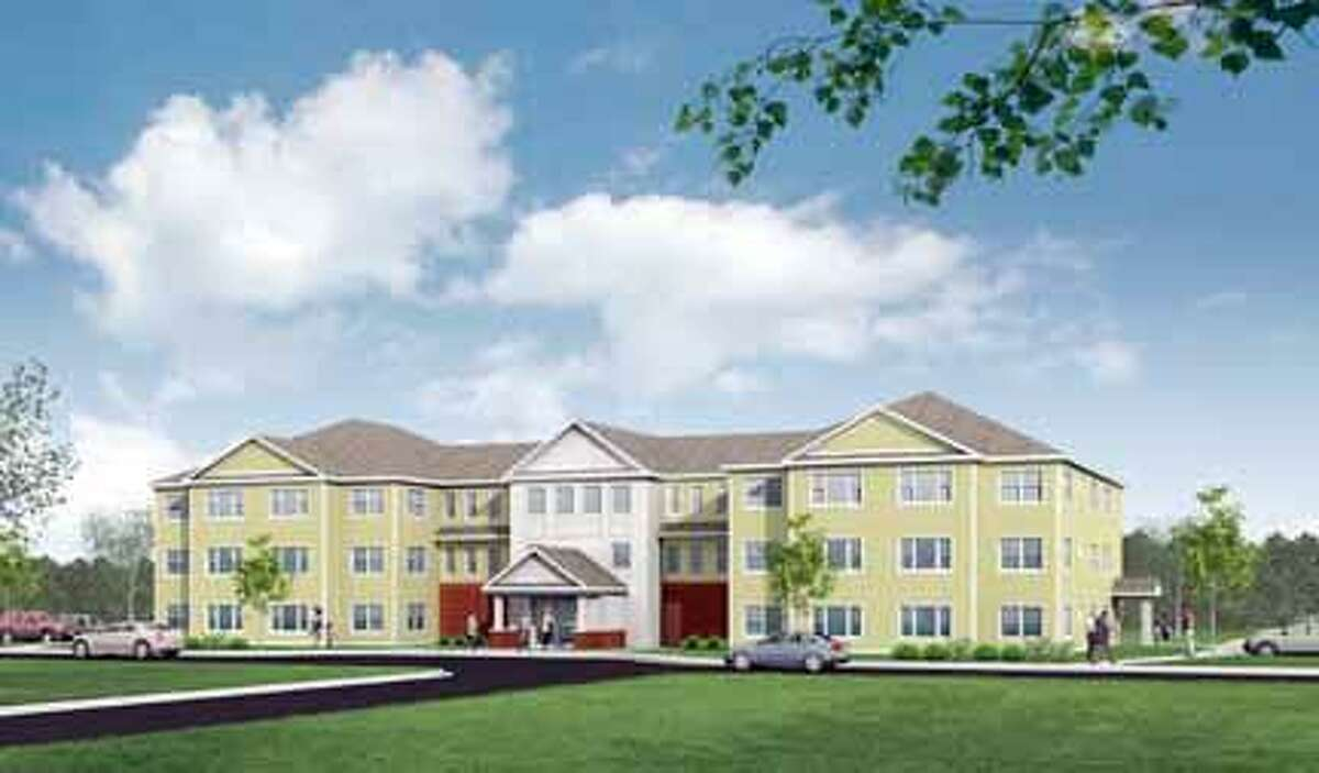 The above is a rendering of the poposed Carriage Maker senior housing project, provided by Quisenberry Arcari Architects. Submitted Photo