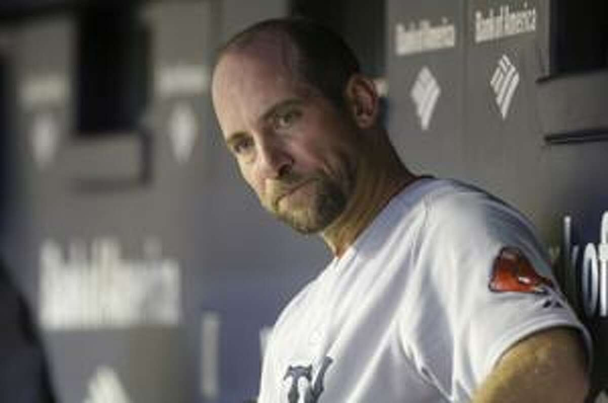 AP Boston Red Sox's John Smoltz looks on after being taken out by manager Terry Francona during the fourth inning of a game against the New York Yankees Aug. 6 in New York. The Boston Red Sox released Smoltz Monday. The team had until Monday to either trade or release the 42-year-old pitcher.