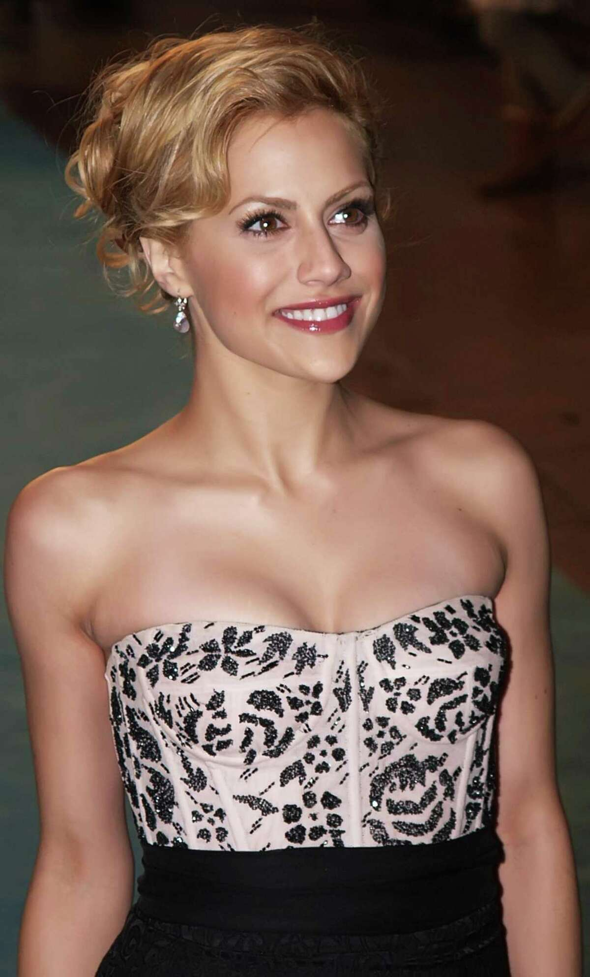 FILE - In this Nov. 26, 2006 file photo, U.S. actress Brittany Murphy arrives in Leicester Square for the European premiere of her latest film