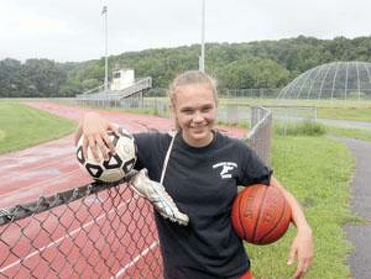 SONJA ZINKE/Register Citizen Junior Sarah Royals is a three-sports standout at Torrington High School. Purchase a glossy print of this photo and more at www.registercitizen.com.