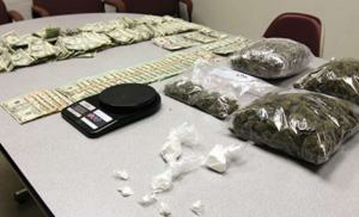 SONJA ZINKE/Register Citizen Drugs and money were seized Tuesday night during a raid at a Torrington residence.