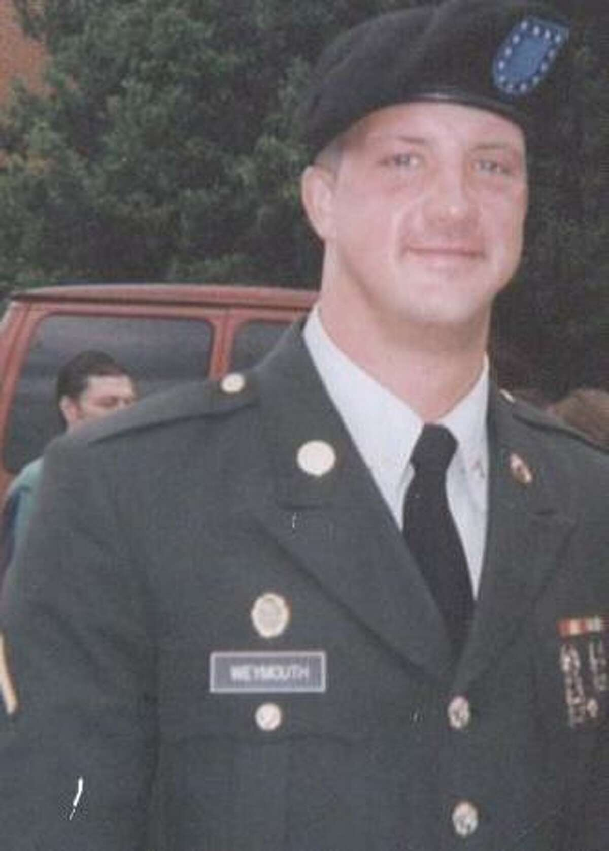 Submitted photo Torrington native Michael Weymouth is serving the U.S. Army as a military police officer.