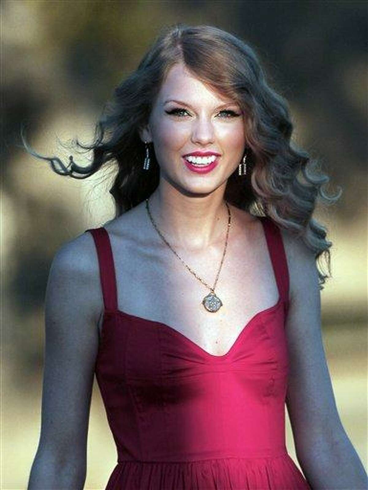 Taylor Swift arrives for the premiere of her new video,
