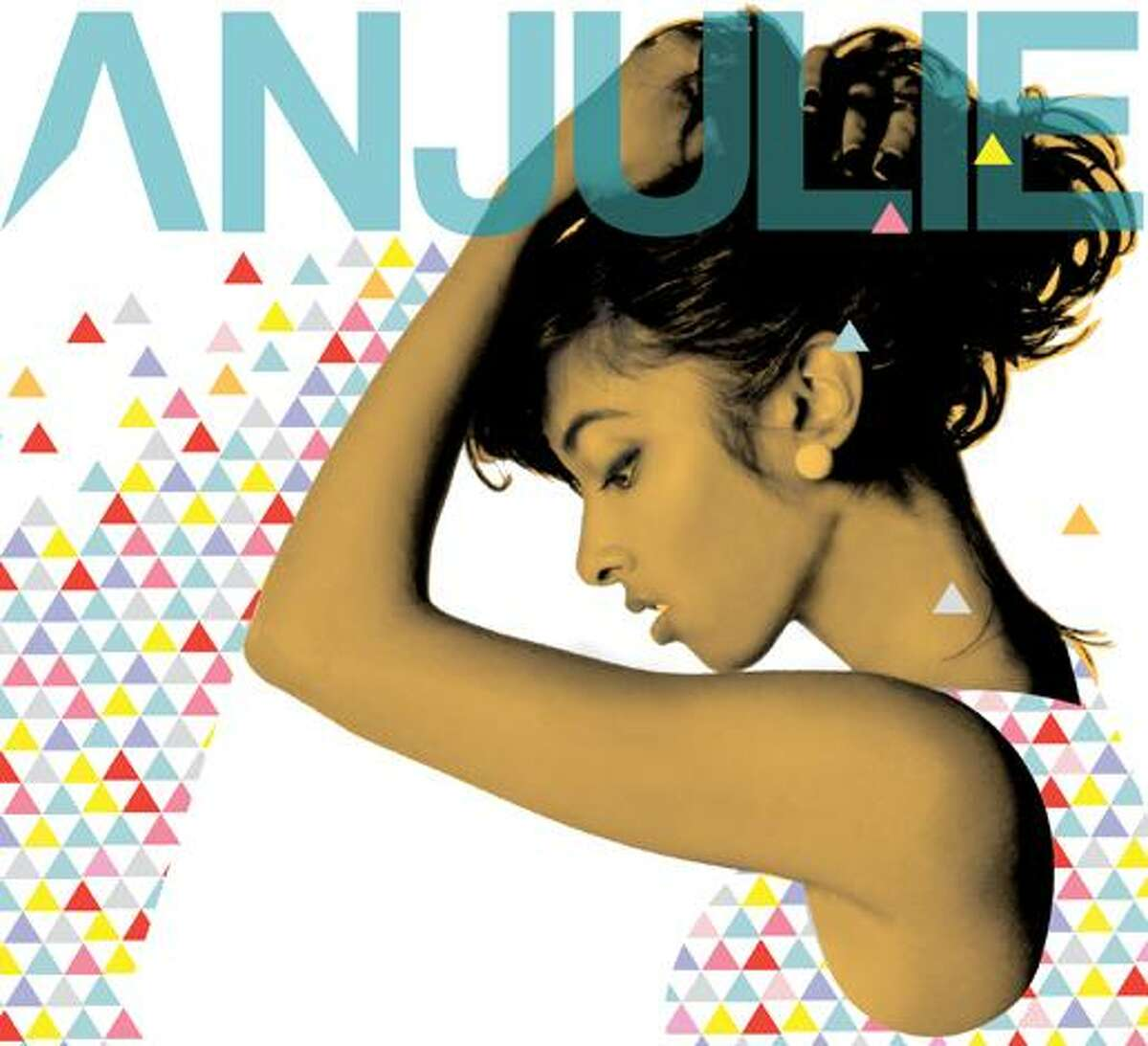 In this CD cover image released by Hear Music/Monster Music, the self-titled debut CD by Anjulie is shown. (AP Photo/Hear Music/Monster Music) ** NO SALES **