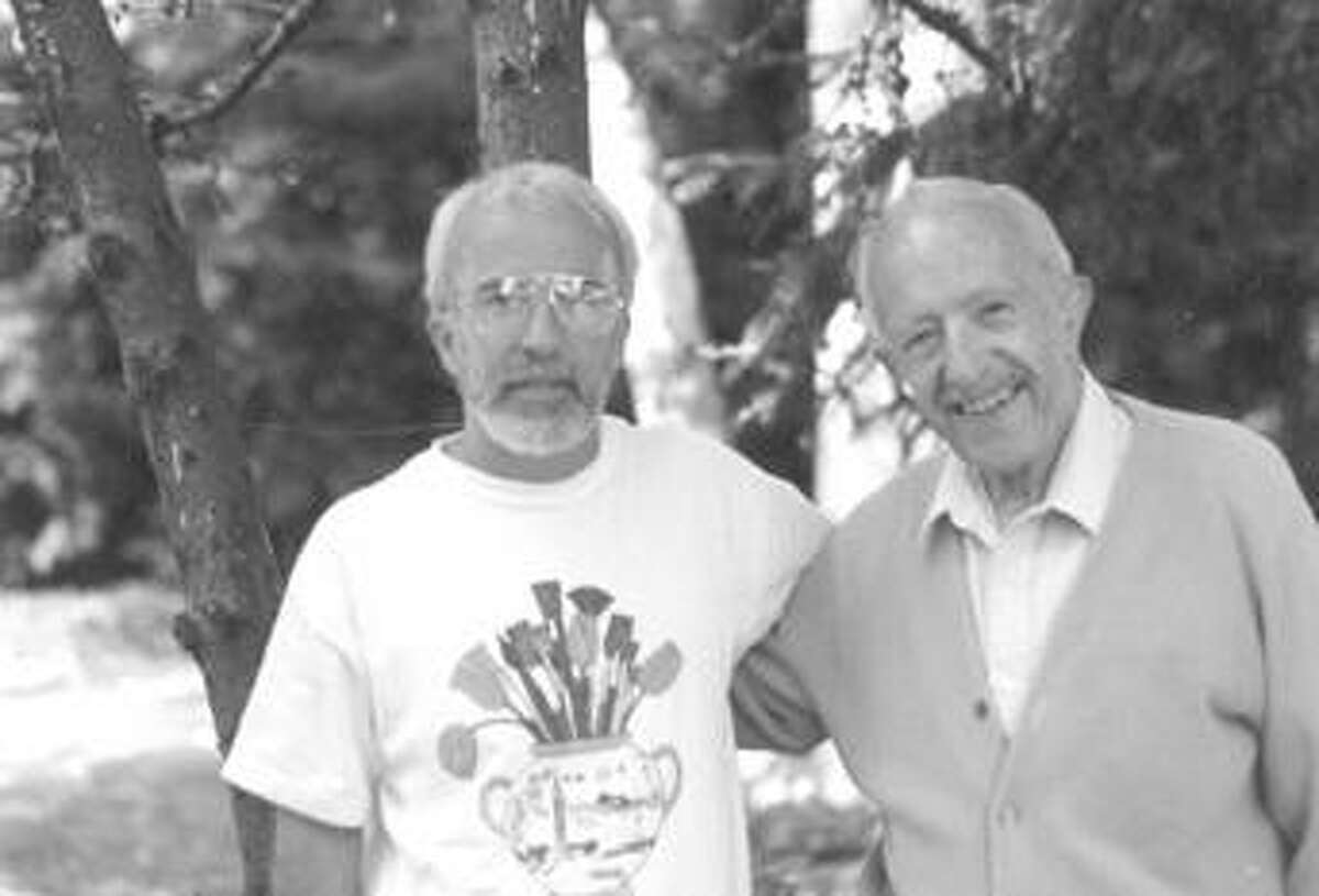 Dennis Baccheschi and Angelo Gepponi are seen in this submitted photo.