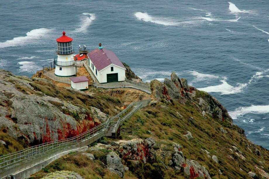 The Point Reyes Lighthouse, also known as Point Reyes Light or the Point Reyes Light Station, is a lighthouse in the Gulf of the Farallones on Point Reyes National Seashore.