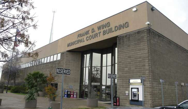 """The detention part of the city-owned Frank D. Wing Municipal Court Building on South Frio Street has been described as a """"dungeon,"""" but that is likely because the county is making arrestees stay longer than necessary to alleviate county jail overcrowding."""
