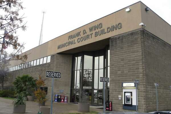 The city-owned Frank D. Wing Municipal Court Building is where city magistrates hold bail hearings, a matter of some dispute with county judges.