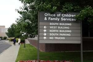 Offices at the New York State Office of Children and Family Services (OCFS) complex on Monday, Aug. 28, 2017, in Rensselaer, N.Y. (Will Waldron/Times union)