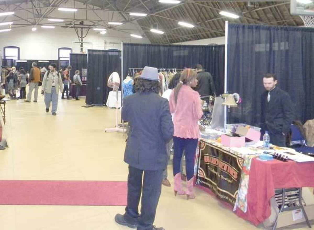 MIKE AGOGLIATI/ Register CitizenThe Brazen Betties Vintage Expo was attended by large crowds of people on Saturday. The event featured 24 area vendors.