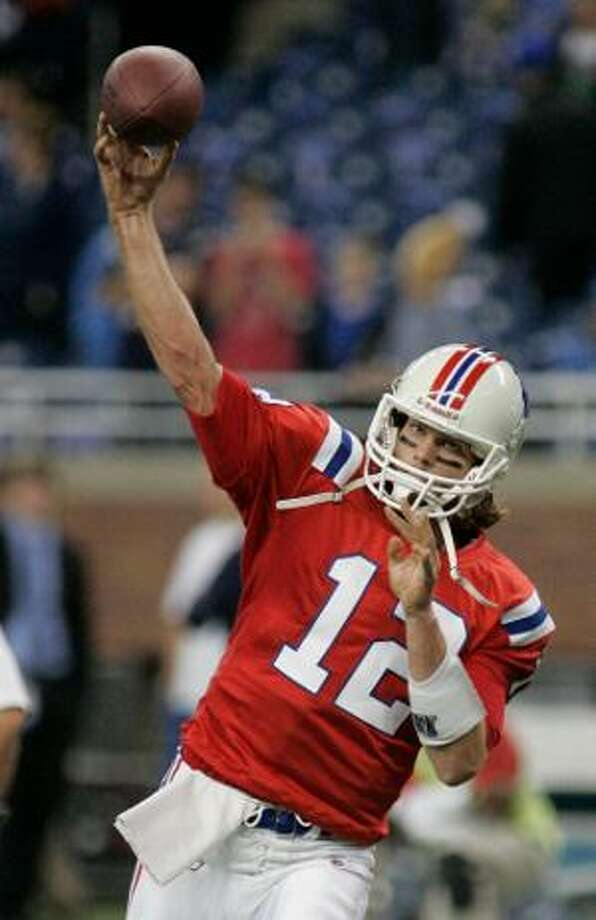 Tom Brady will face off against the rival New York Jets in an epic Monday Night Football matchup this week. (AP photo)