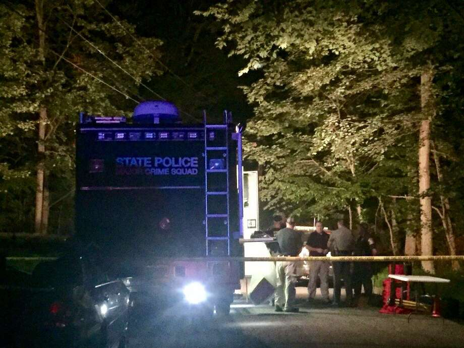 Police fatally shot a man following a brief standoff Monday night in New Milford on Aug. 28, 2017. State Police Western District Crime Squad has taken over the investigation and a state prosecutor will be appointed from another district to review the shooting. The identity of the officers involved was not immediately released. State Police spokeswoman Trooper Kelly Grant said around 5 p.m., police responded to a disturbance at a home on Outlook Road, a dirt road that runs through a sparsely populated neighborhood. Photo: State Police Photo