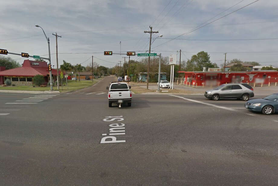 Officers said they found Sylvia Huerta unconscious inside a vehicle at the intersection of Pine Street and U.S. 83. Photo: Google Maps/Street View