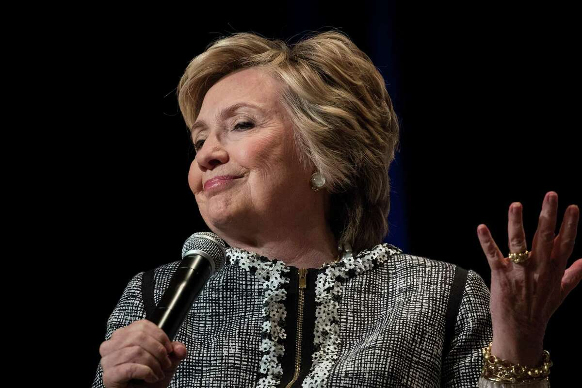 Hillary Rodham Clinton will be at Wesleyan University's R.J. Julia Bookstore in Middletown on Saturday to sign her book