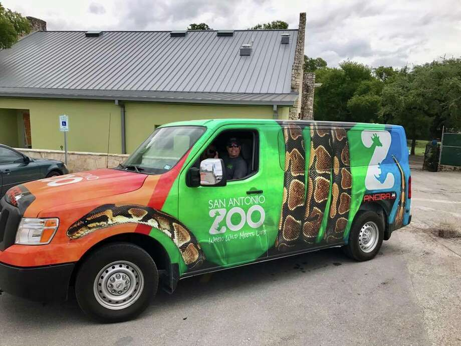 To help Hurricane Harvey relief efforts, the San Antonio Zoo and Sea World San Antonio are delivering equipment and supplies for staff and animals at the Downtown Aquarium. Trucks packed with supplies left San Antonio at 7 a.m. on Tuesday, San Antonio Zoo CEO Tim Morrow said. Photo: Courtesy, San Antonio Zoo