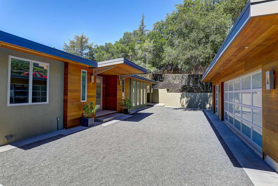 15 Toussin Ave. in Kentfield has more than 5,300 square feet of living space. Photo: Jason Wells Photography