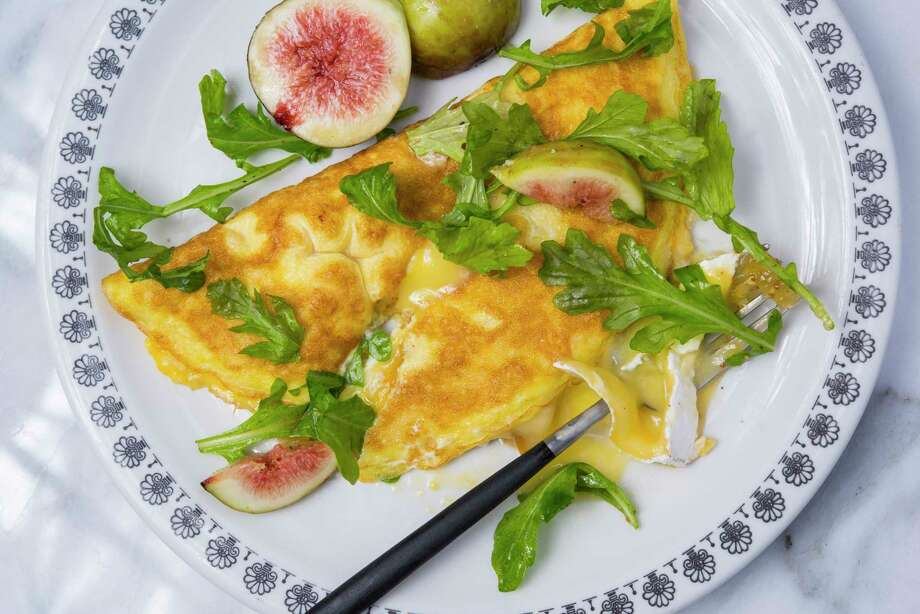 Fig and Brie Omelets. Photo: MUST CREDIT: Washington Post Photo By John McDonnell. / The Washington Post