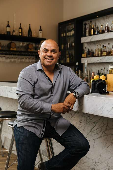 Manny Espinoza visits a favorite spot, Seventh & Dolores Steakhouse in Carmel. Photo: Mason Trinca, Special To The Chronicle