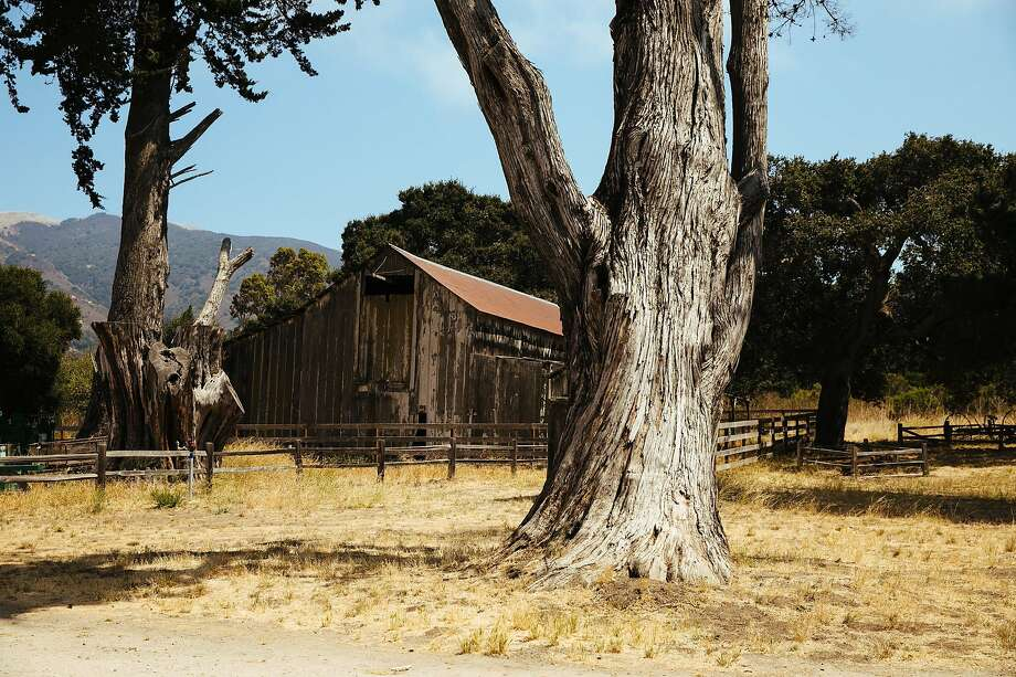 The historic barn at the Garland Ranch Regional Park in Carmel. Photo: Mason Trinca, Special To The Chronicle