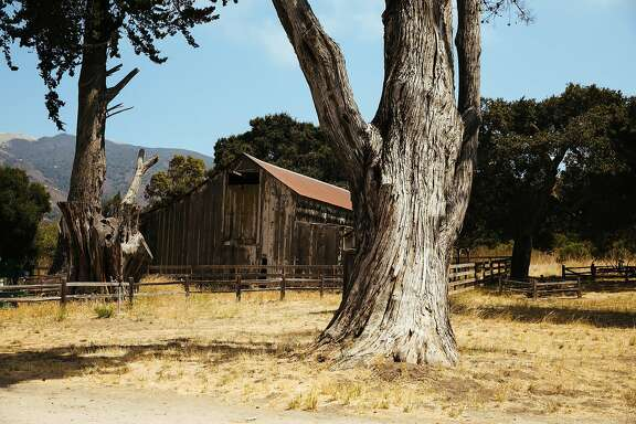 The historic barn seen at the Garland Ranch Regional Park in Carmel, Calif. Wednesday, August 23, 2017.