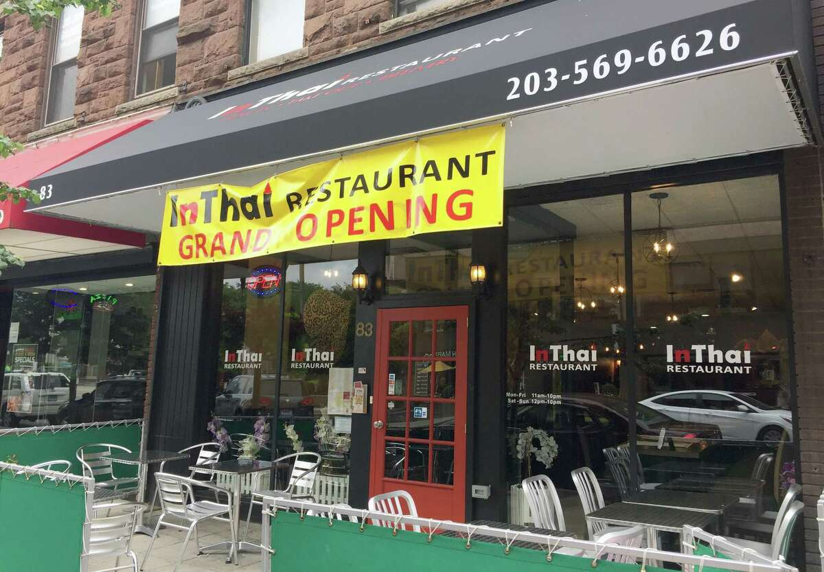 InThai, a new restaurant in downtown Stamford. Photographed on Tuesday, Aug. 29, 2017.