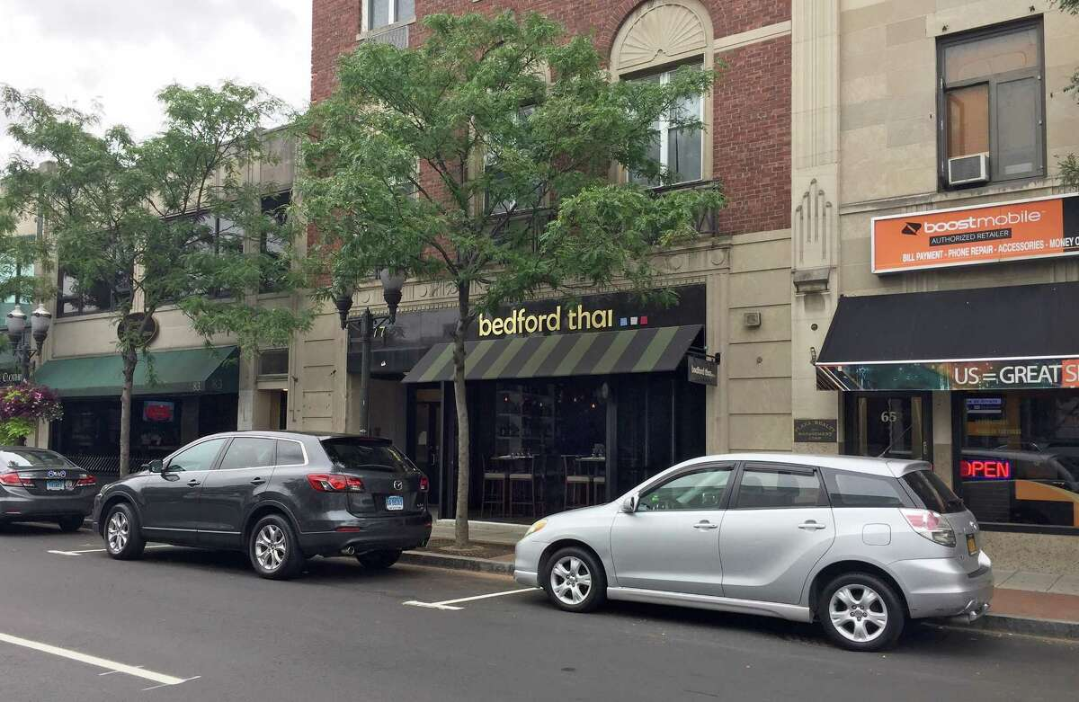 Bedford Thai, a new restaurant in downtown Stamford. Photographed on Tuesday, Aug. 29, 2017.