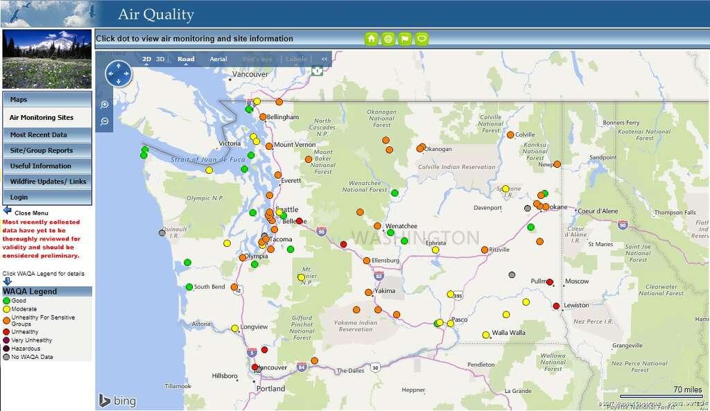 Oregon fires smoke out Seattle Tuesday seattlepicom