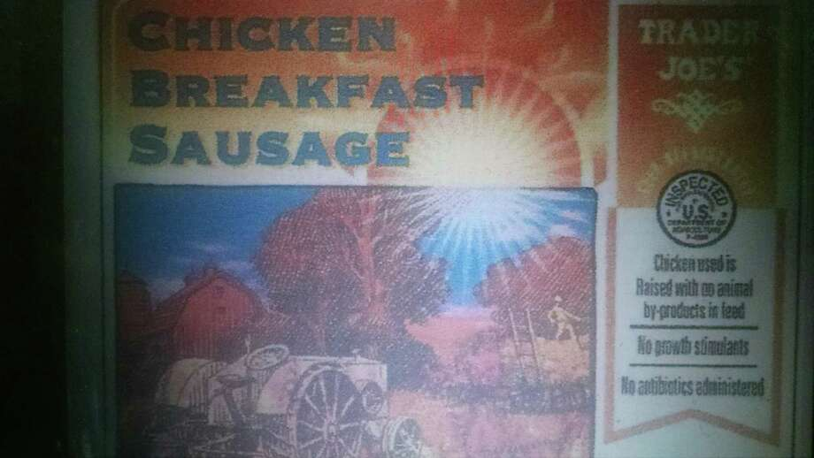 DiLuigi Foods Inc., a Danvers, Mass. establishment, is recalling approximately 3,448 pounds of chicken breakfast sausage products — some of which was distributed in Connecticut — due to misbranding and undeclared allergens. Image courtesy of the U.S. Department of Agriculture. Photo: Contributed / Contributed