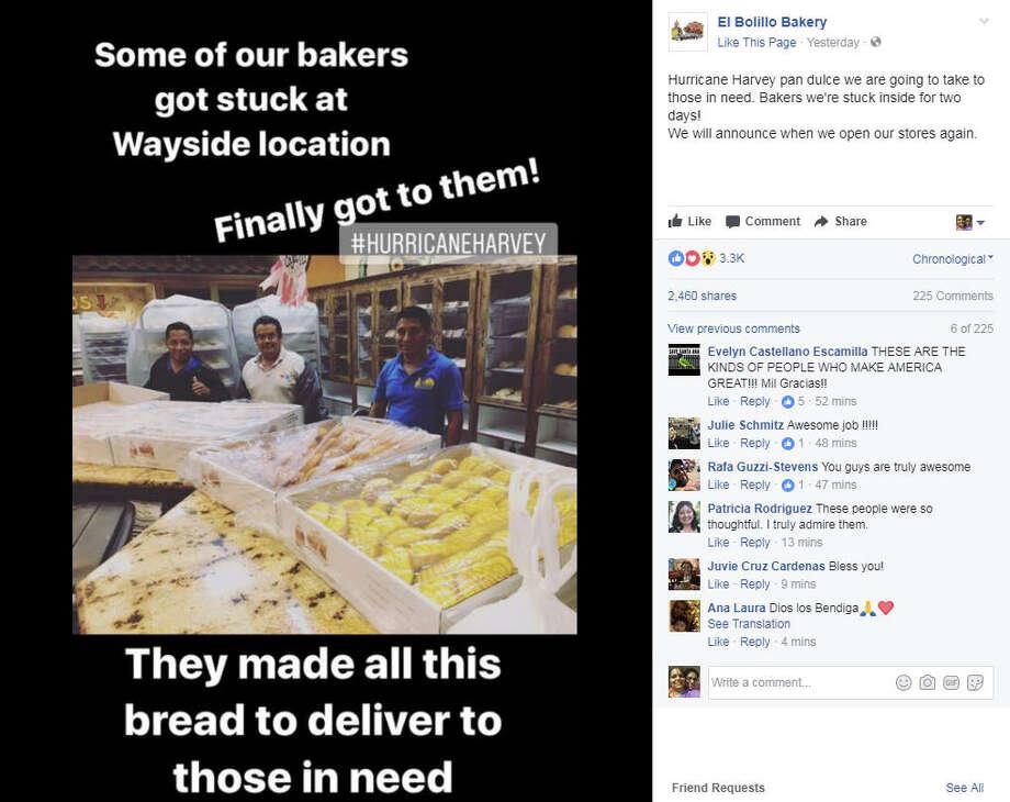 Image via El Bolillo Facebook Page Photo: El Bolillo Bakery