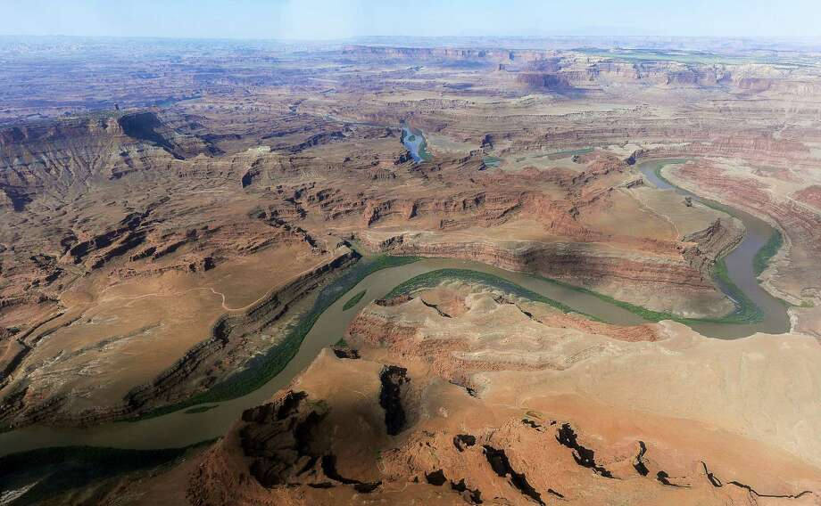 The northernmost boundary of the proposed Bears Ears region, along the Colorado River, in southeastern Utah. Photo: Francisco Kjolseth/The Salt Lake Tribune Via AP, File / The Salt Lake Tribune