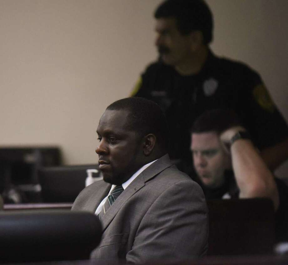 William Porter, accused of murder in the Christmas 2015 death of Trayvouns Edwards, sits in 186th District Court on Tuesday, Aug. 29, 2017. Photo: Billy Calzada, Staff / San Antonio Express-News / San Antonio Express-News