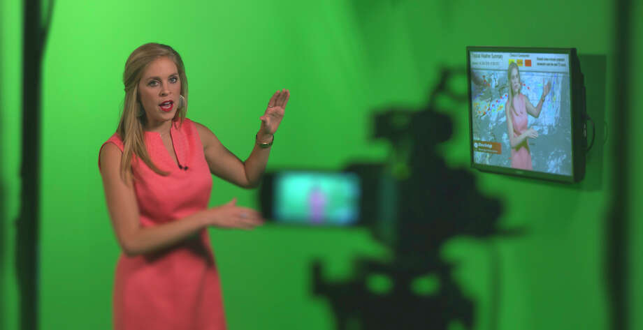 Former Lady Highlander soccer player Olivia Kintigh is now working as a broadcast meteorologist for Wilkens Weather Techonologies. Photo: Wilkens Weater