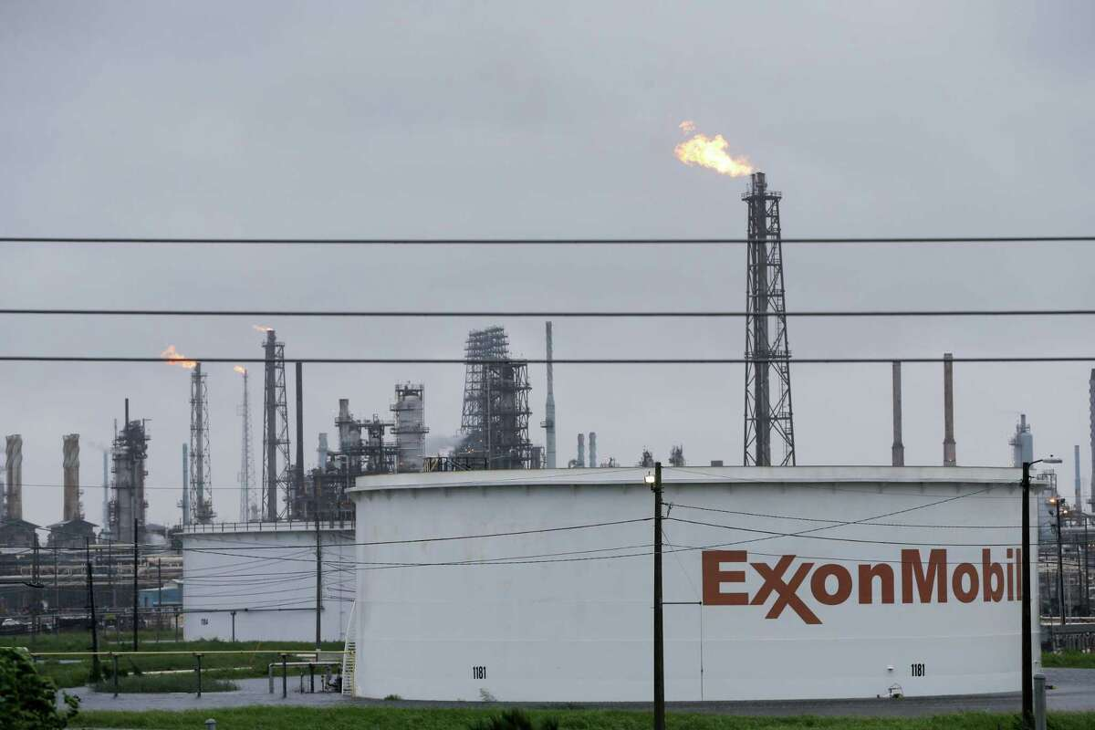 Exxon Mobil has a refining complex in Baytown. Some refineries are restarting.