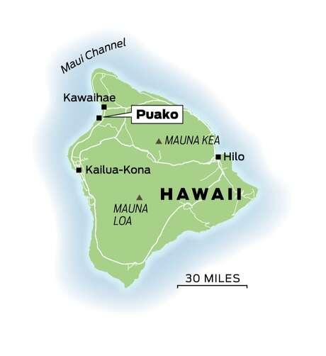 Kohala Coast Hawaii Map.Islands Small Towns Are Rich In Old Hawaii Sfgate