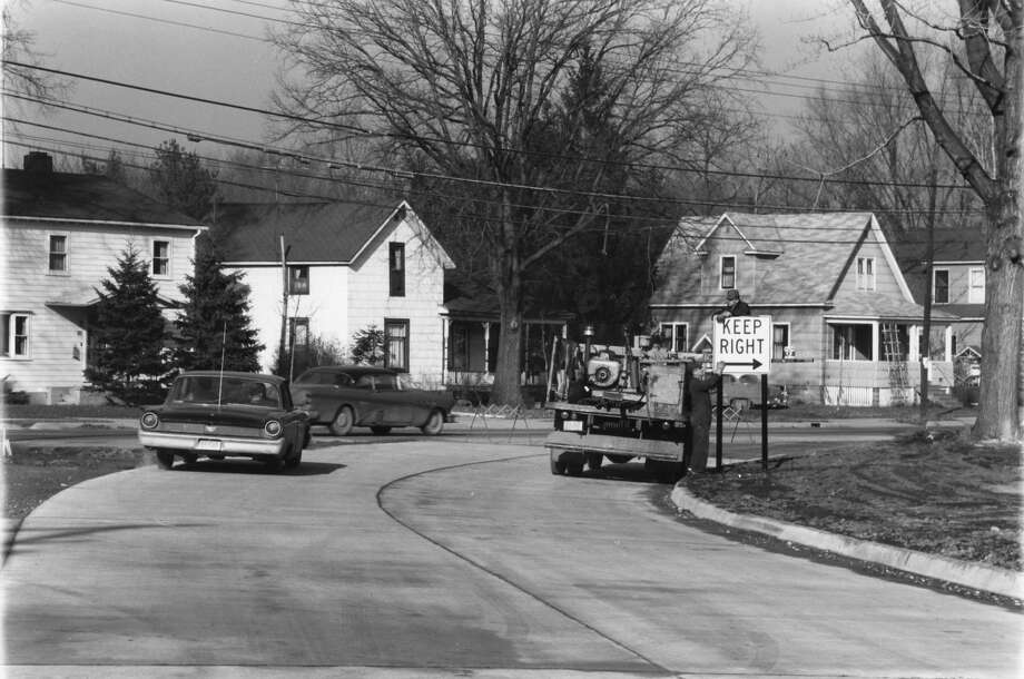 Area of Eastman (Business U.S. 10 and Indian/Buttles. Unknown date (1960s-1970s) Photo: Daily News File Photo