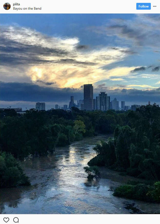 People began sharing photos of sunlight peeking through after days of heavy rain and catastrophic flooding brought on by Hurricane Harvey.Source: Instagram Photo: Instagram