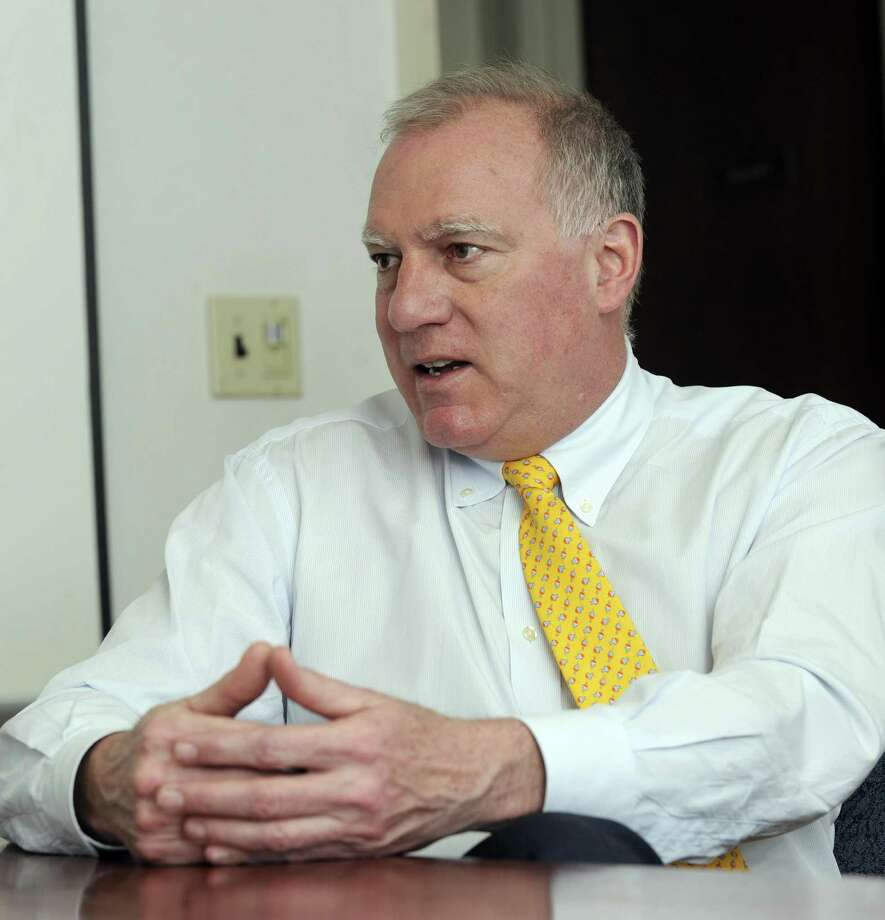 Connecticut Attorney General George Jepsen on Wednesday made a public plea to the president to retain the program that allows 5,000 young foreign-born state residents to remain here. Ten attorneys general from conservative states are attempting to end the DACA program. Photo: Carol Kaliff / Carol Kaliff / The News-Times