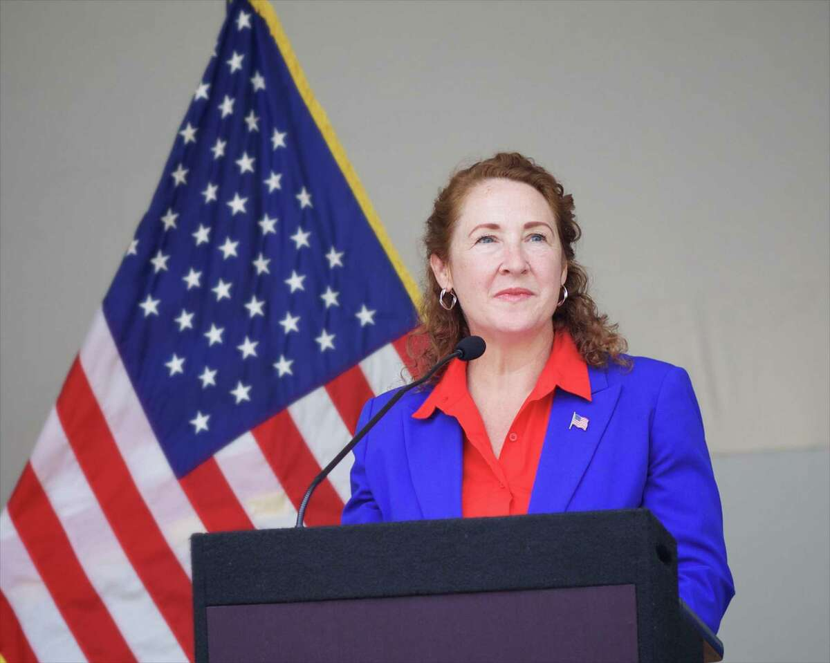 U.S. Rep. Elizabeth Esty, D-5, joined lawmakers and young foreign-born state residents in supporting the continuation of the program that allows 5,000 of them to live legally in the state.