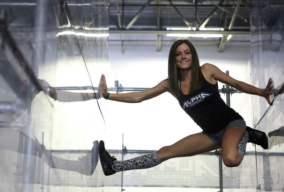 "San Antonio's Kacy Catanzaro, the 5-foot-tall woman who made history on ""American Ninja Warrior,"" is excited about a new venture: the WWE. Photo: Express-News File Photo / ©2014 San Antonio Express-News"