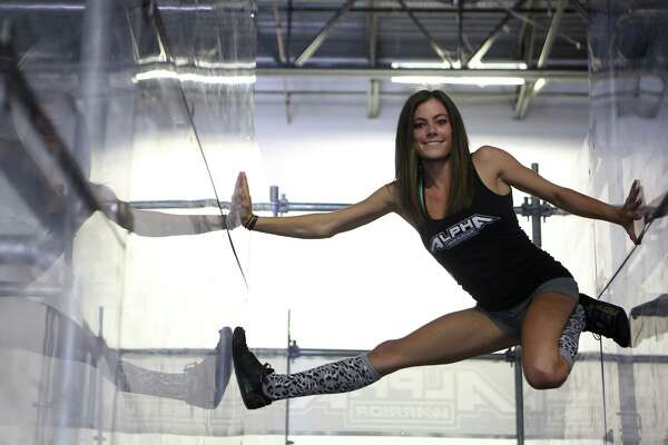 "San Antonio's Kacy Catanzaro, the 5-foot-tall woman who made history on ""American Ninja Warrior,"" is excited about a new venture: the WWE."